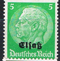1940 German Occupation Elsass