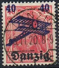 Free city of Danzig 1920