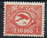 Free city of Danzig 1922