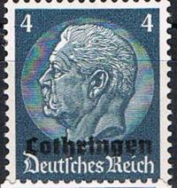 1940 German Occupation Lothringen
