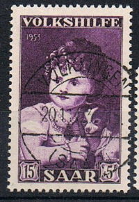 Saarland / Saare 1953