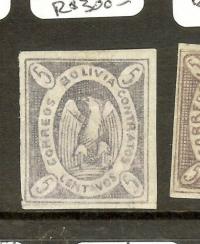 BOLIVIA (P1912BB) SC3 SIGN BRUN MOG